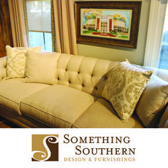 Classic and timeless furniture from Something Southern in Mississippi.