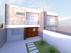 Estudo fachada residências