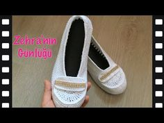 Der Neuen Besten : Easy Based Easy Loafers Made - Easy Knit Ballet Making Crochet Videos, Baby Booties, Make It Simple, Tabata, Espadrilles, Slippers, Loafers, Ballet, Booty