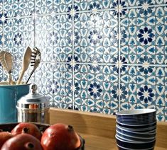 tiles Moroccan Blue And White Ceramic Tile Backsplash Tile Ideas Blue White Ceramic Tiles Kitchen Decorating Ideas Blue And White Ceramic Tile Backsplash Moroccan Tiles Kitchen, Moroccan Tile Backsplash, Blue Kitchen Tiles, Ceramic Tile Backsplash, Kitchen Backsplash, Kitchen Decor, Backsplash Ideas, Tile Ideas, Moroccan Bathroom