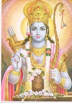 The hindu god Rama.