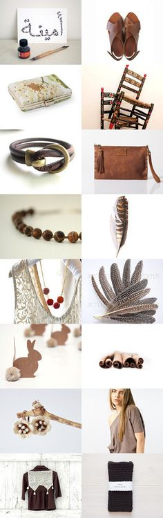 Brown Summer Ending by Ta Ma Ra on Etsy--Pinned with TreasuryPin.com