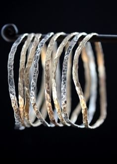 Alexis Russell Mixed Metal Bangles