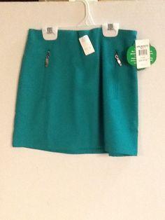 Girl Scouts Skirt Green Size 7 /X Small Uniform unior Skirt New!  #GirlScoutsofAmerica #SkirtSkort