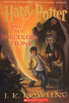 Pin for Later: See 100+ Magical Harry Potter Book Covers From Around the World Harry Potter and the Sorcerer's Stone, USA School Market Edition