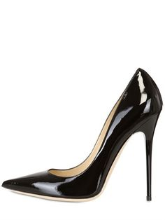 JIMMY CHOO - 120MM ANOUK PATENT LEATHER PUMPS