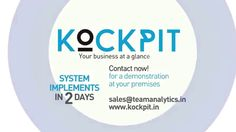 Kockpit BI Tool - A complete package of surprises for CEOs