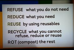 My green life:: Bea Johnson on Jeff Probst Show today has developed w/her family the fine art living green. These are her recommendations. Her book: Zero Waste Home
