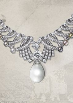 the drawing?...Rouge Cartier - The Royal Pearl Necklace