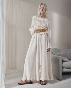 See by Chloé Resort 2017 Fashion Show http://www.theclosetfeminist.ca/whiteness-resort-2016/ http://www.vogue.com/fashion-shows/resort-2017/see-by-chloe/slideshow/collection#19