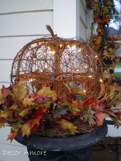 Decor Amore: A Wonderful Wednesday and More Fall Decor!