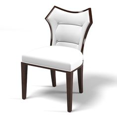 contemporary modern dining chair 3d max - Contemporary modern Dining side chair... by archstyle