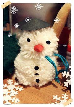 Einen Schneemann basteln (der garantiert nicht schmilzt ;-)