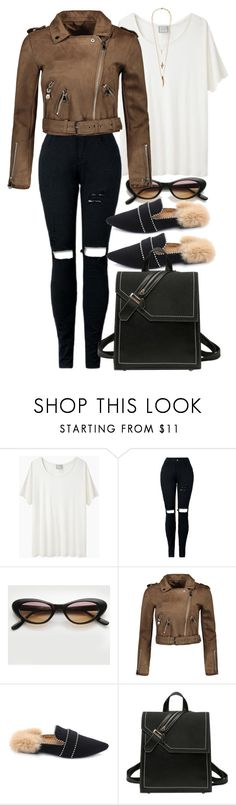 """""""Suede and Fur"""" by nikka-phillips ❤ liked on Polyvore featuring Base Range and Lacey Ryan"""