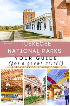 Visiting the National Parks of Tuskegee, Alabama is a step back in history. Both sites are beautifully preserved and presented and offer a ton of educational opportunities. Tuskegee airmen and Tuskegee Instittue are great trips for families and you will all walk away knowing and understanding a special piece of American history. Check out our post for planning your day in Tuskegee! #tuskegee #nationalparks #alabamatravel
