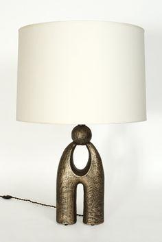 Robert Altman has great table lamps!