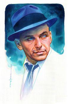 Frank Sinatra by Brian Stelfreeze