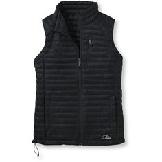 L.L.Bean Ultralight 850 Down Sweater Vest (225 CAD) ❤ liked on Polyvore featuring outerwear, vests, sweater vest, fitted vest, lightweight quilted vest, lightweight vest and l.l.bean