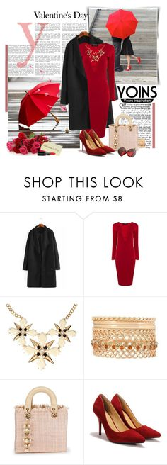 """Win this dress or $30 voucher from Yoins !"" by astromeria ❤ liked on Polyvore featuring Smashbox, women's clothing, women, female, woman, misses, juniors and yoins"