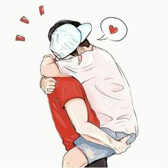 If he didn't mind being picked up this would be us (he always wears hats and it's adorable)