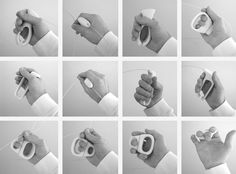 ergonomic handle design - Google Search Design Model, My Design, Material Research, Presentation Layout, Medical Design, Wearable Device, Design Research, Design Process, Industrial Design