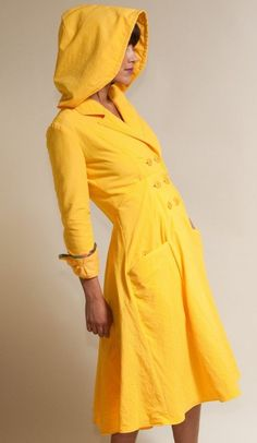 Seaside Raincoat - Water Proof Rain Jacket Available in Yellow, Black, Gray, and Navy