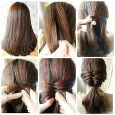 Okul için saç modelleri