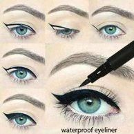 Maybelline Eye Studio Master Precise Pencil Eyeliner, Black - Walmart.com #EyelinerPencil Maybelline, How To Do Eyeliner, Eyeliner Styles, Cat Eye Makeup, Pencil Eyeliner, Beauty Bar, Skin Care Tips, Soaps, Cleanser