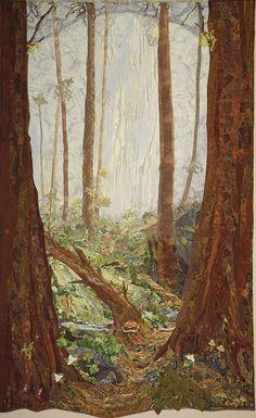 Kathy McNeil landscape quilt