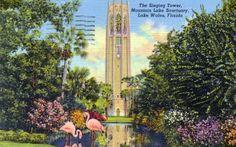 The Singing Tower - Mountain Lake Sanctuary, Lake Wales, Florida.