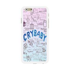 Melanie Martinez Crybaby Lyrics iPhone Cases