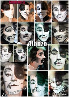 Cats Makeup Collages