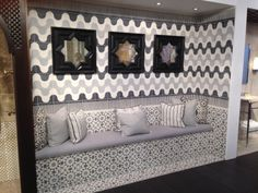 First look at #KBIS2014: Eastern Promise by @Marty Newman Lawrence Bullard - handcrafted in Morocco.