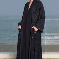 Repost @nanuni_abaya with @instatoolsapp ・・・ New pieces for Eid. #subhanabayas #fashionblog #lifestyleblog #beautyblog #dubaiblogger #blogger #fashion #shoot #fashiondesigner #mydubai #dubaifashion #dubaidesigner #dresses #capes #uae #dubai #abudhabi #sharjah #ksa #kuwait #bahrain #oman #instafashion #dxb #abaya #abayas #abayablogger #абая Dubai Fashion, Abaya Fashion, Muslim Fashion, Modern Abaya, Abaya Dubai, Abaya Designs, Lifestyle Blog, Kimono Top, Stylish