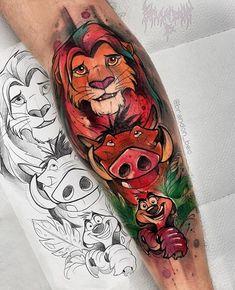 New tattoo animal sleeve coloring Ideas Diy Tattoo, Tattoo Geek, Tattoo Henna, Tattoo Trend, Tattoo Ideas, Dope Tattoos, Leg Tattoos, Body Art Tattoos, Tatoos