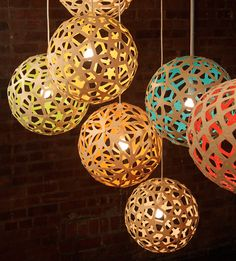 David Trubridge Design  Wood Lighting