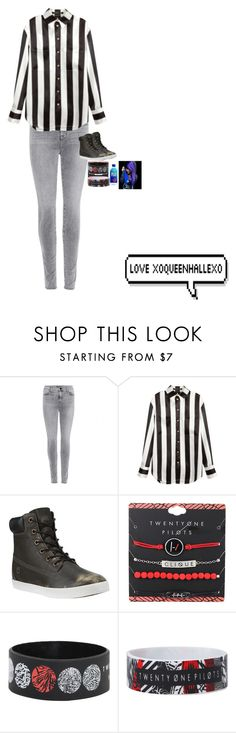"""""""idk idk idk idk"""" by xoqueenhallexo ❤ liked on Polyvore featuring J Brand, Balmain and Timberland"""