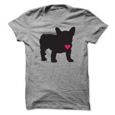 t-shirt Frenchie Love