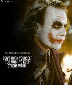 Joker Qoutes, Batman Quotes, Best Joker Quotes, Positive Attitude Quotes, Good Thoughts Quotes, Breakdown Quotes, Heath Ledger Joker Quotes, Bad Quotes, Powerful Motivational Quotes