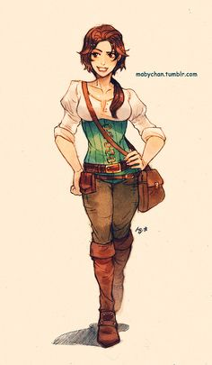 We just can't get enough of these genderswapped Disney and Dreamworks characters Hallo, ich bin Rachel, Tochter von Flynn Rider und Rapunzel. Disney Pixar, Disney Rapunzel, Disney Fan Art, Kida Disney, Disney E Dreamworks, Princesas Disney, Disney Love, Disney Magic, Disney Characters