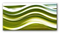 BRUSHED GREEN WAVE modern abstract painting, fully hand painted abstract canvas artwork framed gallery-wrap style and ready to hang with Free Delivery and fully guaranteed Modern Canvas Art, Canvas Wall Art, Canvas Paintings, Best Canvas Prints, Abstract Waves, Wall Art Decor, Reference Images, Project Ideas, Green