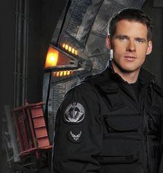 Ben as Cameron Mitchell on Stargate SG-1