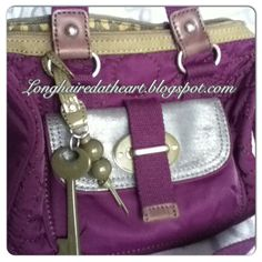 Purses handbags purse handbag tasche crossbody bowling bag satchel sydney satchel fossil teal emerald green grün smaragd jewel tones bright colors colorful strap leather  2013 2014 winter fall unique classy vintage keyper lilac purple violet quilt fabric top handle Love Fashion, Mens Fashion, Fossil Handbags, Bowling Bags, Teal, Purple, Jewel Tones, Michael Kors Hamilton, Mens Clothing Styles