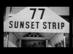 """Warner Bros studio's L.A.-based private eye television series """"77 Sunset Strip"""" was a staple of ABC's Friday night schedule in the late 50s and early 60s.     '77 Sunset Strip' premiered on October 10, 1958 at 9:30pm on ABC.    The series revolved around two private detectives played by Efrem Zimbalist Jr. (Stuart 'Stu' Bailey) and Roger Smith (Jeff..."""