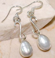 Freshwater Pearl 925 Sterling Silver Dangle earrings