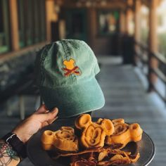 Waffle and Bacon Crossbones Hat