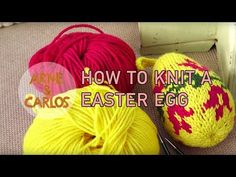 Pattern for this year's knitted Easter egg. – ARNE & CARLOS #knitting #freepattern #arnecarlos