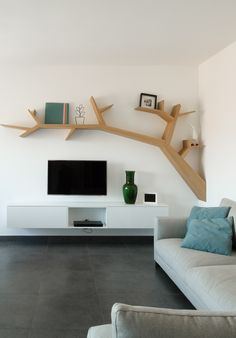You are in the right place about TV unit furniture Here we offer you the most beautiful pictures about the TV unit panelling you are looking for. Design Hall, Tv Wall Design, Home Room Design, Home Interior Design, Simple Tv Unit Design, Tv Wanddekor, Tv Unit Furniture Design, Modern Tv Wall Units, Modern Tv Cabinet