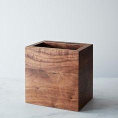 Walnut Utensil and Knife Box