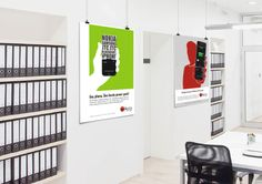 In Store posters for iAccy